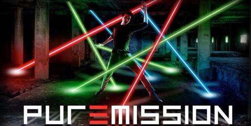 Pure mission laser game rouen