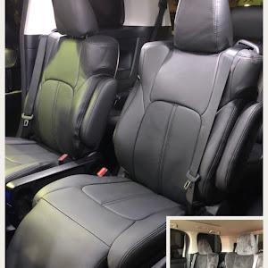 ヴェルファイア AGH30W のシートのカスタム事例画像 けんちゃんさんの2018年10月21日10:37の投稿