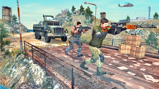 Border War Army Sniper 3D apkpoly screenshots 9