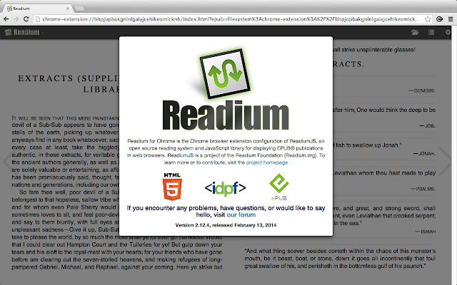 Readium chrome web store fandeluxe Image collections
