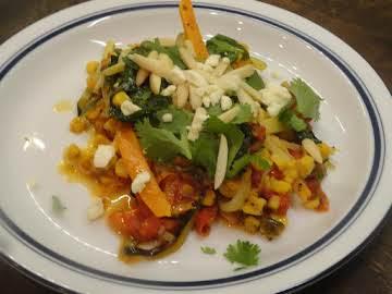 Zucchini and Sweet Potato Pasta