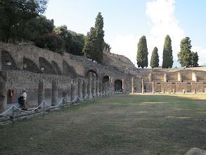 Photo: It.s3S222-141007Pompéï, site archéo, fort des gladiateurs  IMG_5515