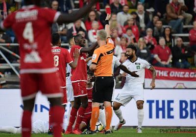 Omar Govea de l'Antwerp connaît la durée de sa suspension