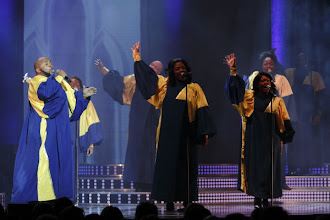 Photo: QUEEN ESTHER MARROW'S THE HARLEM GOSPEL SINGER. Konzert am 7. und 8. Januar 2014 im Wiener Konzerthaus. Foto: DI. Dr. Andreas Haunold