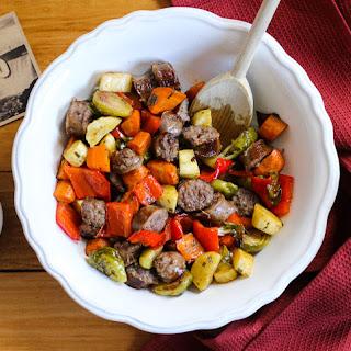 Johnsonville Root Vegetable & Sausage Toss
