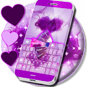 Keyboard Purple Passion