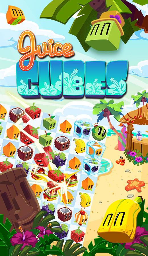 Juice Cubes: captura de pantalla