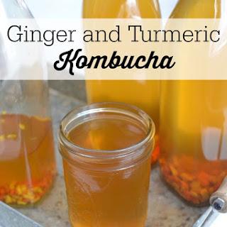 Ginger and Turmeric Kombucha Recipe