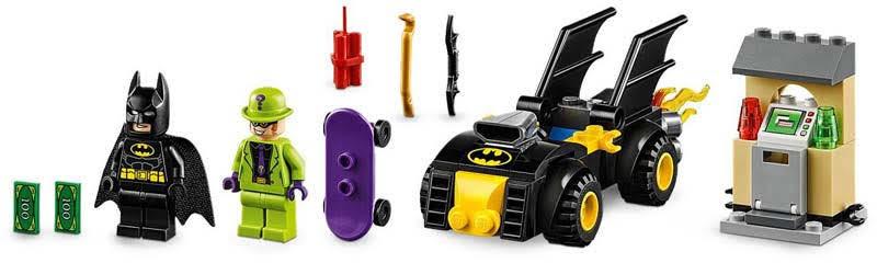 Contenido de Lego® 76137 Batman™ y el Robo de Enigma