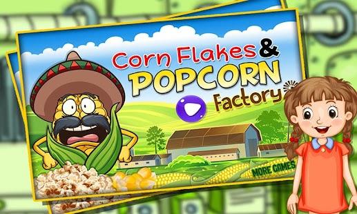 Popping Popcorn Maker Factory - náhled