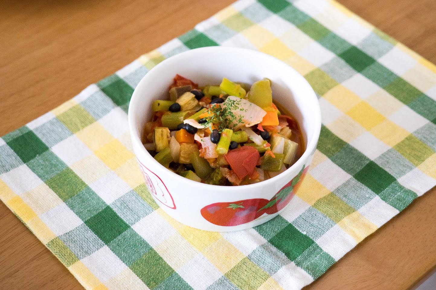 黒千石レシピ:No.20 黒千石のラタトゥイユ