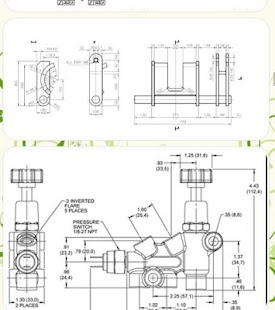 Assembly Drawing Ex les together with Mechanical Blueprint Drawings together with Mechanical Blueprint Drawings further Blueprint Understanding Industrial Blueprints furthermore Riser Diagram 287001. on mechanical blueprint reading examples