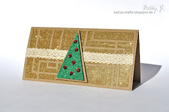 Photo: http://bettys-crafts.blogspot.de/2013/07/weihnachtsbaum.html