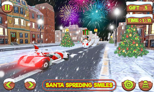 Santa Claus Stunt Car Christmas Gift Delivery for PC-Windows 7,8,10 and Mac apk screenshot 10