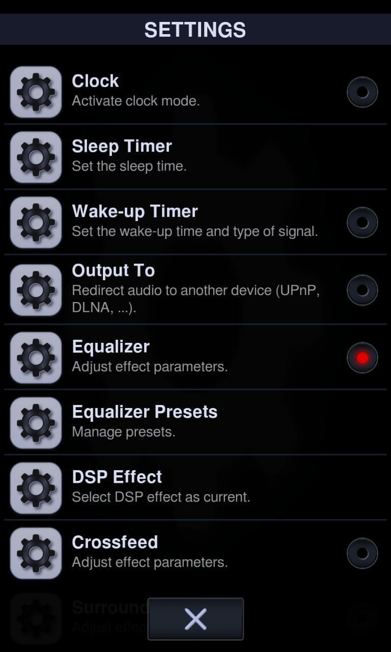 Neutron Music Player screenshot #5