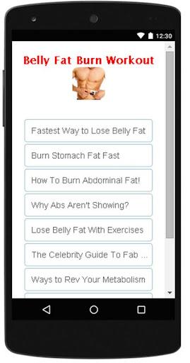 腹部脂肪燃燒鍛煉的秘密