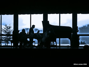Photo: Concert Rehearsal, Harrigan Centennial Hall, Sitka, Alaska
