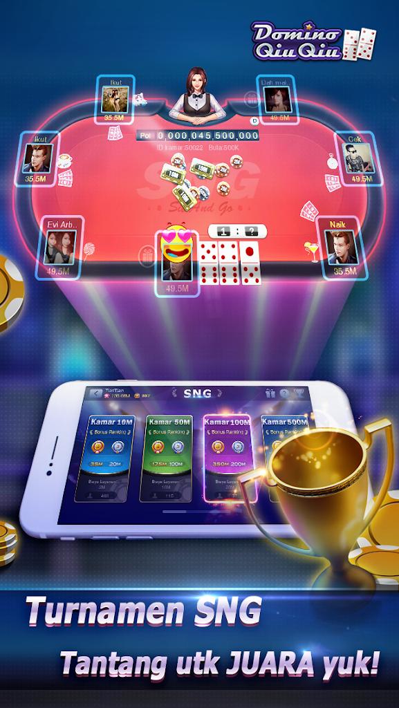 Domino Qiuqiu 99 Kiukiu Top Qq Game Online 1 5 5 Apk Download Com Dominoqq Poker Apk Free