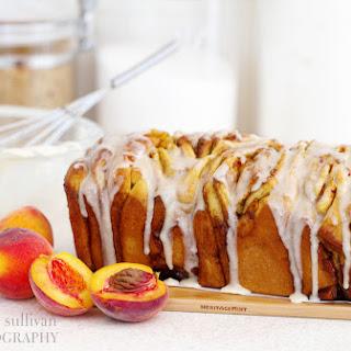 Peach Cinnamon & Brown Butter Pull-Apart Bread