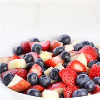 Red, White, and Blue Fruit Salad.