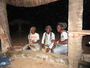 Photo: prywatny koncert na plaży przy Cotonou