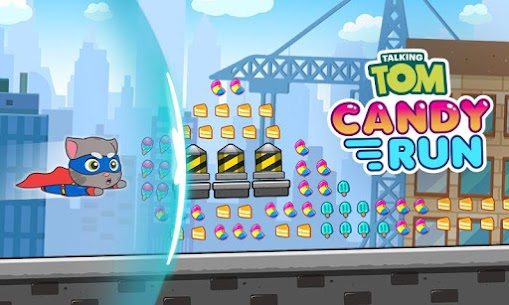 Talking Tom Candy Run Mod Apk Download (Unlimited Everything) for Android 7
