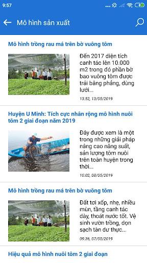 Nông nghiệp Cà Mau screenshot 4