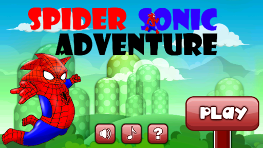 Spider Sonic Funny Adventure