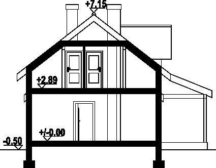 Osiek 82 dws - Przekrój