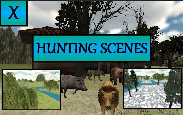 WILD ANIMAL HUNTER 3D - screenshot
