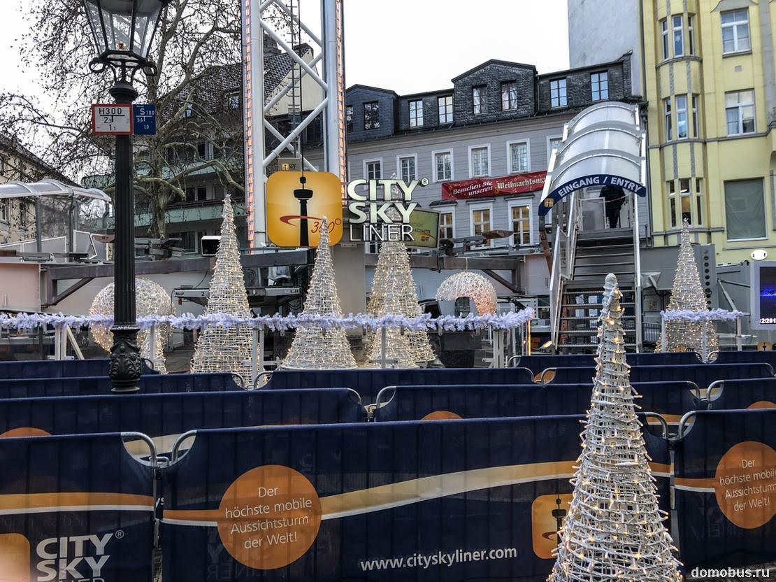 Бонн в Рождество