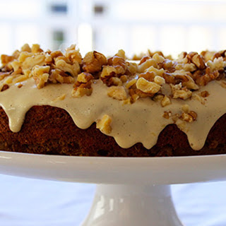 Walnut Carrot Cake With a Maple-Cashew Frosting [Vegan]