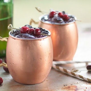 Cranberry Moscow Mules Recipe