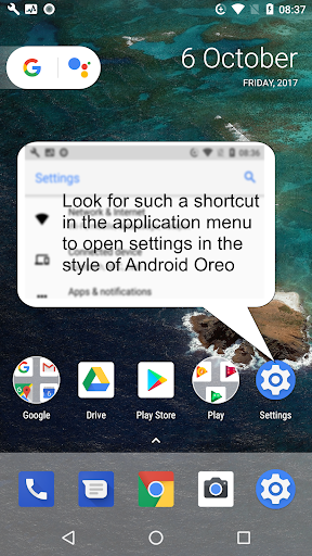Oreo UI for Android BETA 1.2 screenshots 4