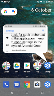Oreo UI for Android BETA - náhled