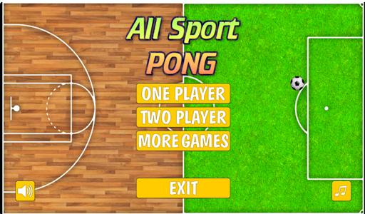All Sport Pong