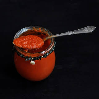 Mario Batali's tomato sauce with carrots - naturally sweet and tender.