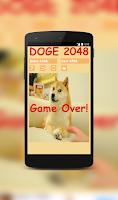 Screenshot of Doge 2048