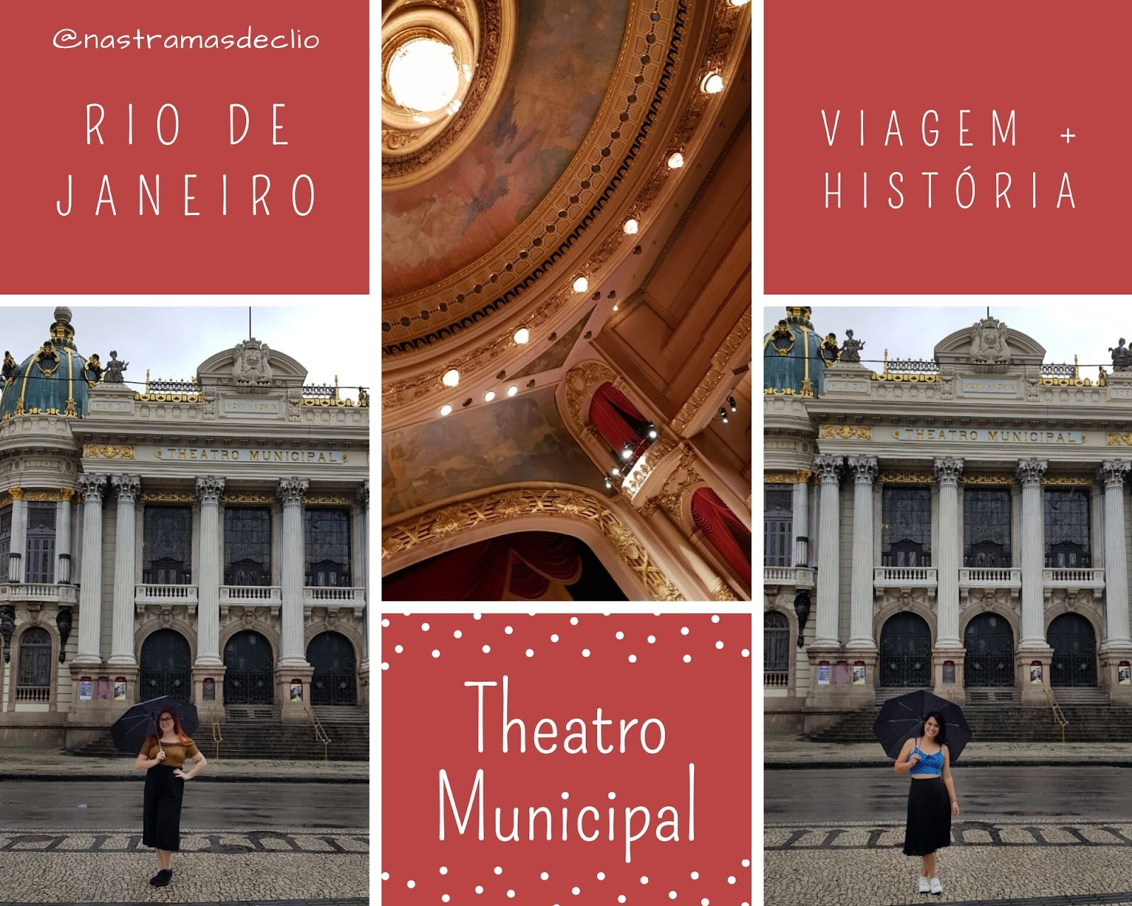 Fachada do Theatro Municipal.