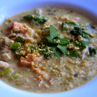 Hearty Fish Chowder (non-dairy).