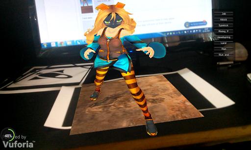 My Virtual Girl Argumented