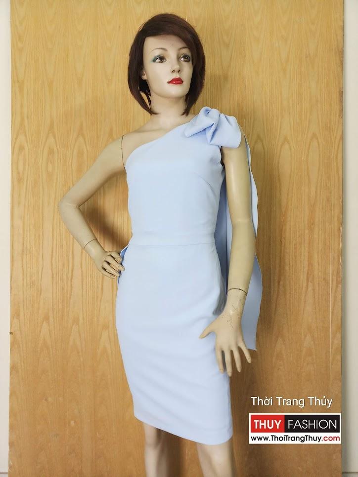 Váy lệch vai dáng ôm mặc dự tiệc V626 Thời Trang Thủy Hải Phòng