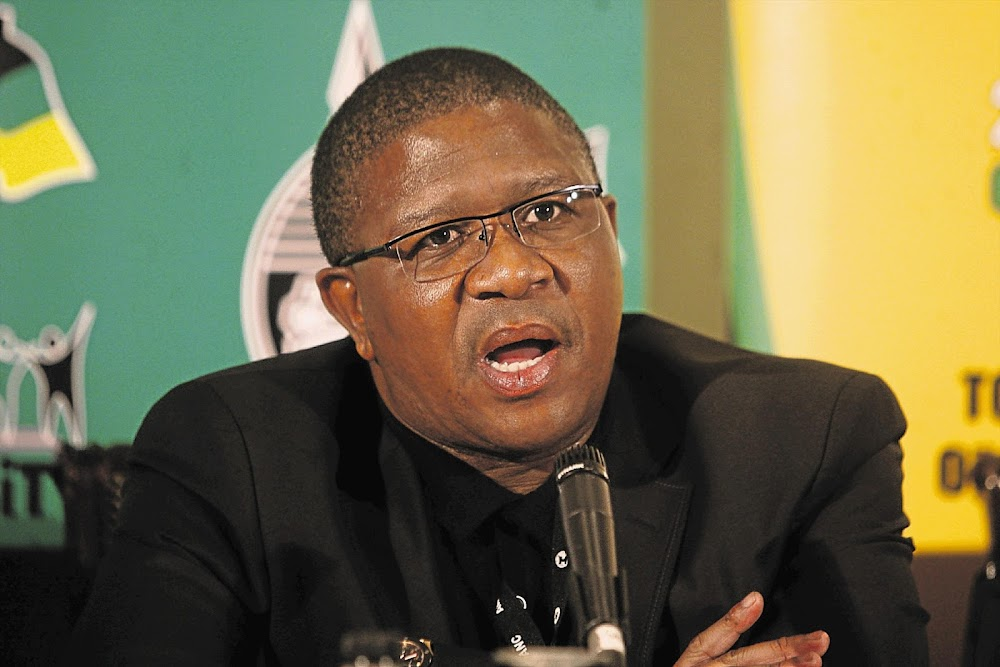 WATCH | 'There's no crisis': Fikile Mbalula on grounded passenger planes - TimesLIVE