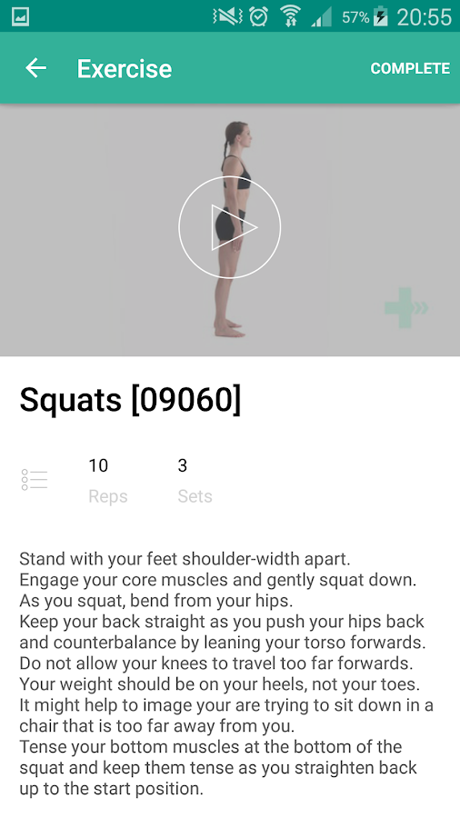 PhysiApp®- screenshot