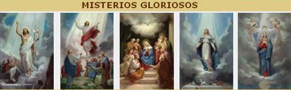 -Mistérios Gloriosos - Quarta-feira e Domingo