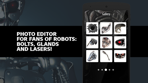 Iron Robot Photo Editor screenshot