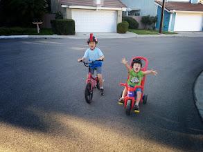 Photo: Brothers Bike Around The Block