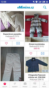 eMimino.cz bazar- screenshot thumbnail
