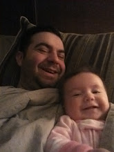 Photo: Hanging out in Mommy and Daddy's bed in the morning.  Not the best pictures, but still cute.