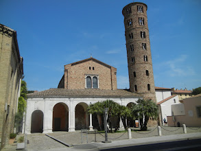 Photo: We walked over to the Basilica of Sant'Apollinare Nuovo, the last Byzantine church on our itinerary.